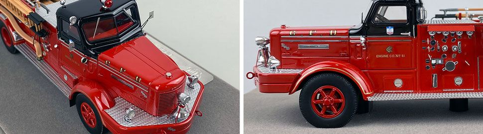 Close up images 5-6 of Chicago FWD Engine 61 scale model