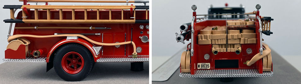 Close up images 9-10 of Chicago FWD Engine 61 scale model
