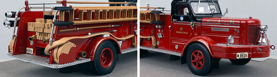Close up images 11-12 of Chicago FWD Engine 61 scale model