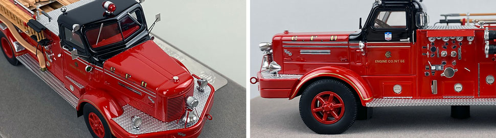 Close up images 9-10 of Chicago FWD Engine 66 scale model