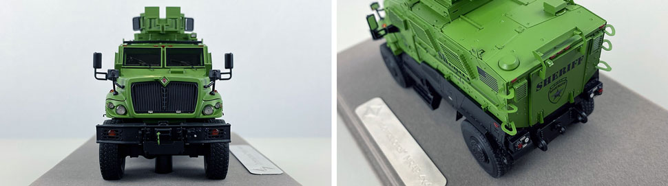Close up images 9-10 of International MVP 4x4 Sheriff SWAT scale model