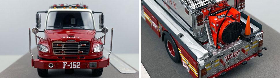 Closeup images 1-2 of FDNY Foam Tender 152 scale model