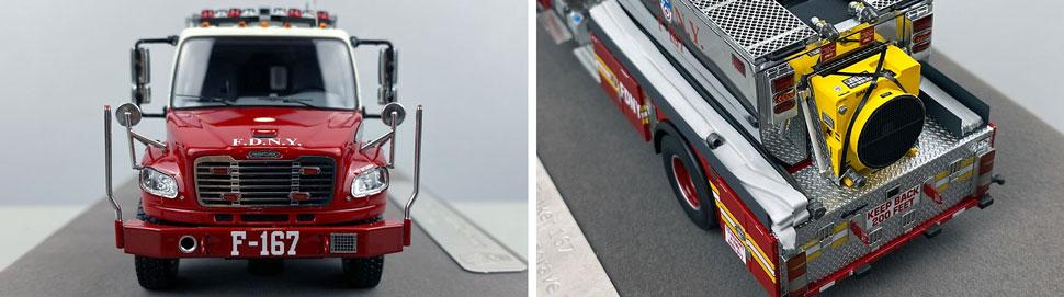 Closeup images 1-2 of FDNY Foam Tender 167 scale model