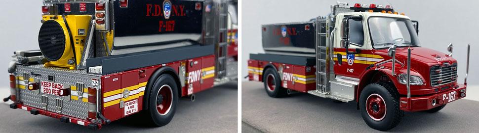 Closeup images 11-12 of FDNY Foam Tender 167 scale model
