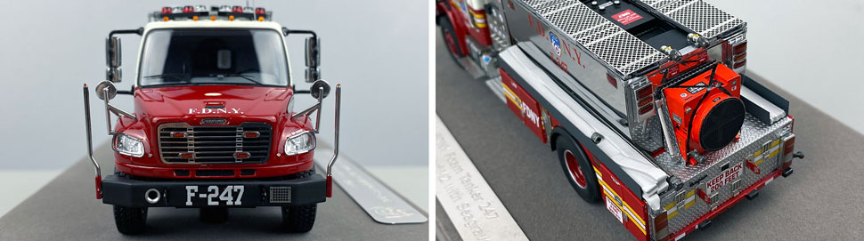 Closeup images 1-2 of FDNY Foam Tender 247 scale model