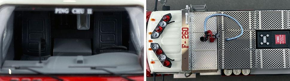 Closeup images 13-14 of FDNY Foam Tender 270 scale model