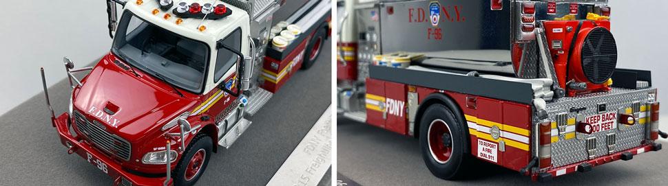 Closeup images 7-8 of FDNY Foam Tender 96 scale model
