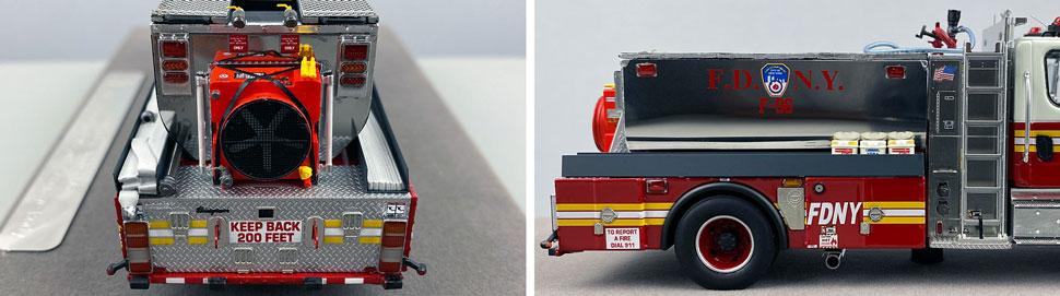 Closeup images 9-10 of FDNY Foam Tender 96 scale model