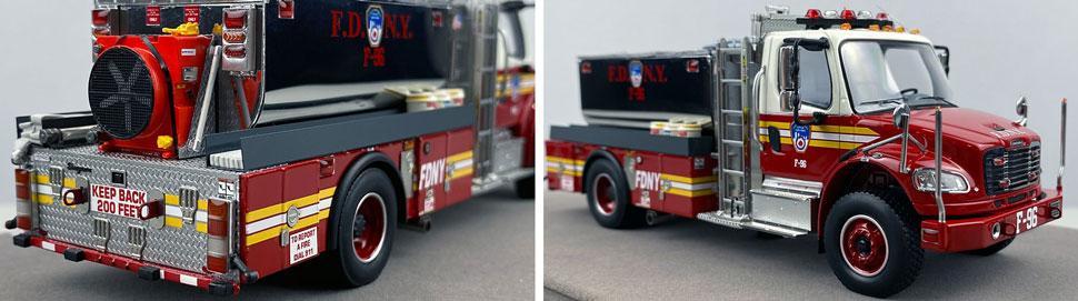 Closeup images 11-12 of FDNY Foam Tender 96 scale model