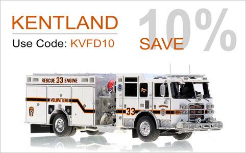 10% off Kentland models through year end!