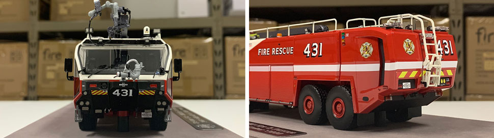 Close up images 3-4 of BWI Rescue 431 scale model