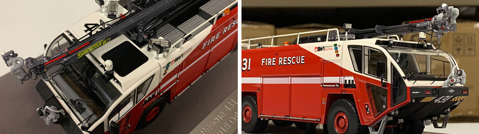 Close up images 1-2 of BWI Rescue 431 scale model