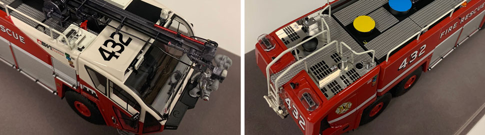 Close up images 3-4 of BWI Rescue 432 scale model