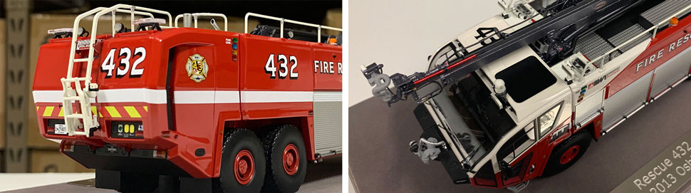Close up images 5-6 of BWI Rescue 432 scale model