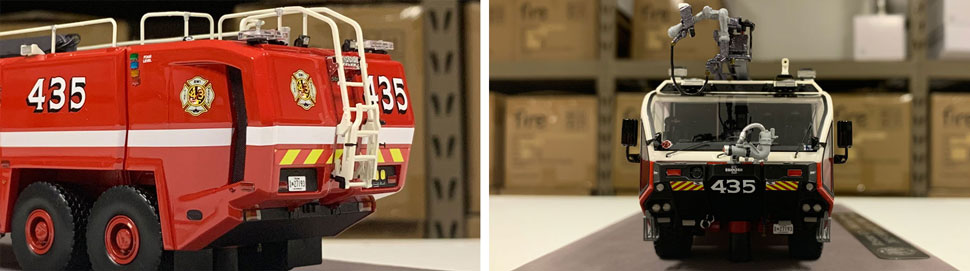 Close up images 5-6 of BWI Rescue 435 scale model