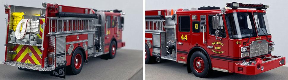 Close up images 11-12 of Detroit Ferrara Engine 44