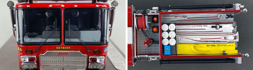Close up images 13-14 of Detroit Ferrara Engine 44