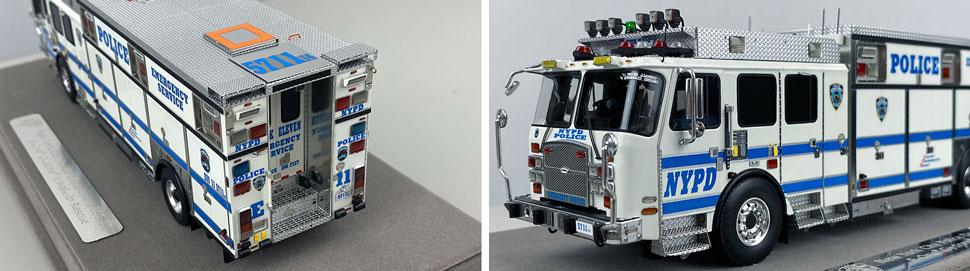 Close pics 3-4 of NYPD E-One Cyclone II ESS 11 scale model