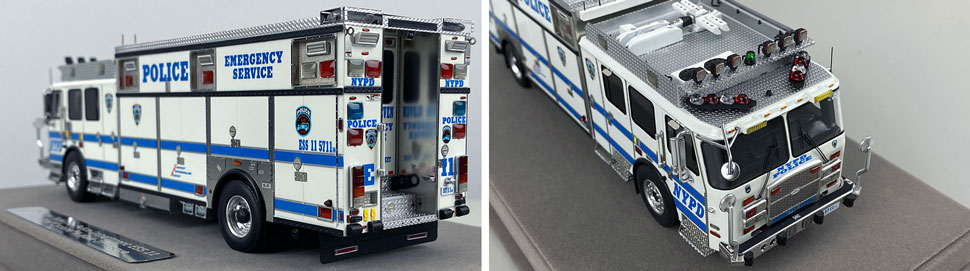 Close pics 7-8 of NYPD E-One Cyclone II ESS 11 scale model