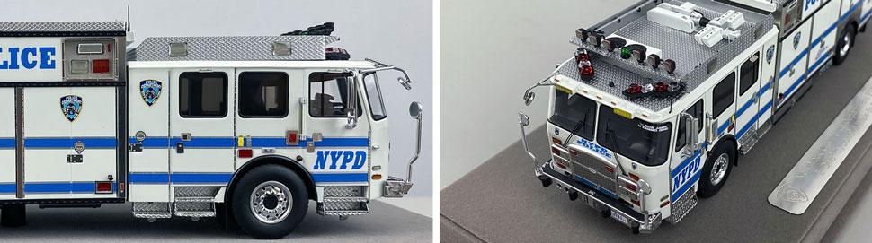 Close pics 13-14 of NYPD E-One Cyclone II ESS 11 scale model