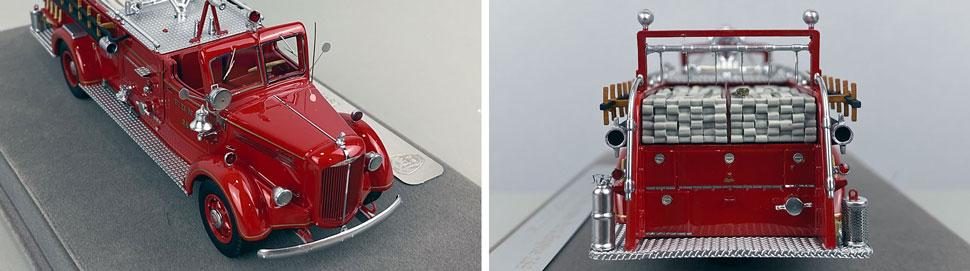 Closeup pics 5-6 of FDNY Mack L Pumper Engine 289 scale model