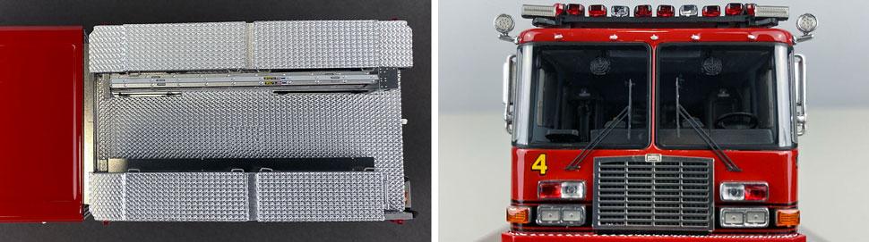 Closeup pics 9-10 of Detroit Fire Department HME Heavy Rescue Squad 4 scale model