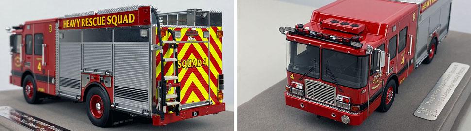 Closeup pics 7-8 of Detroit Fire Department HME Heavy Rescue Squad 4 scale model