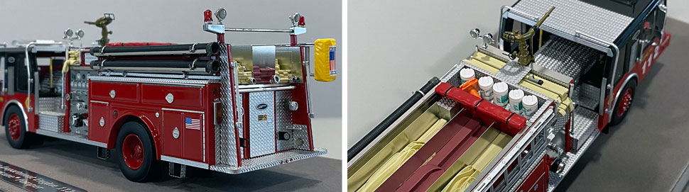 Close up images 3-4 of Chicago E-One Hurricane Engine 112 scale model