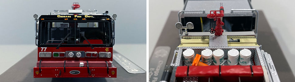 Close up images 3-4 of Chicago E-One Hurricane Engine 77 scale model