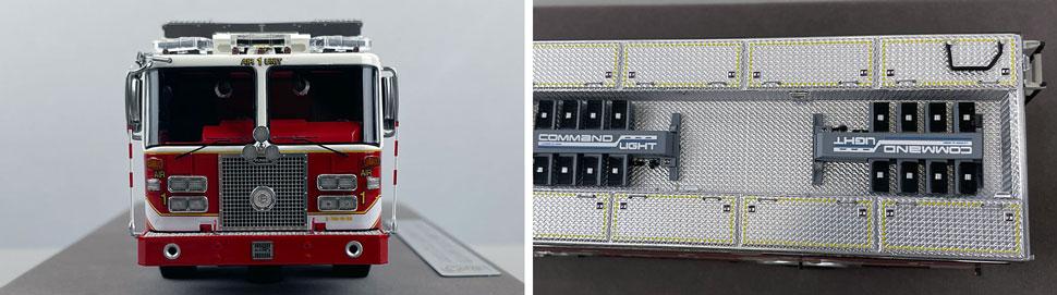 Close up images 1-2 of DC Fire & EMS KME Air Unit 1 scale model