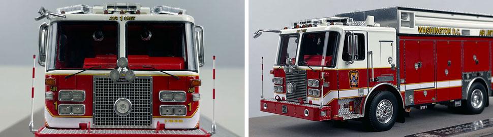 Close up images 9-10 of DC Fire & EMS KME Air Unit 1 scale model