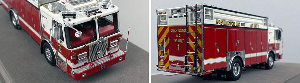 Close up images 5-6 of DC Fire & EMS KME Air Unit 1 scale model