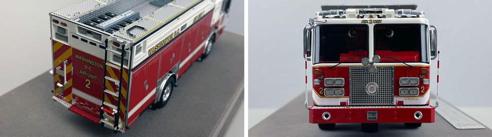 Close up images 1-2 of DC Fire & EMS KME Air Unit 2 scale model