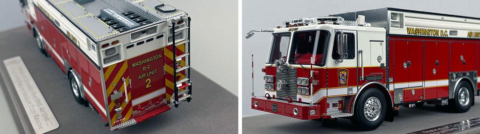 Close up images 3-4 of DC Fire & EMS KME Air Unit 2 scale model