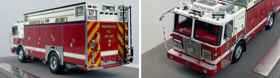 Close up images 7-8 of DC Fire & EMS KME Air Unit 2 scale model