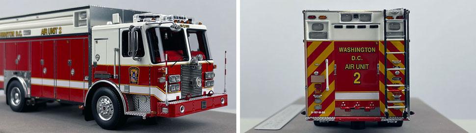Close up images 9-10 of DC Fire & EMS KME Air Unit 2 scale model