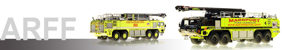 Shop ARFF Crash truck scale models by Fire Replicas