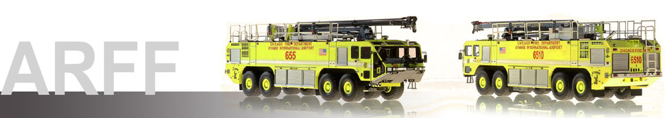 1:50 scale ARFF Crash Truck scale models
