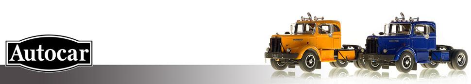 1:50 scale museum grade replicas of Autocar rigs