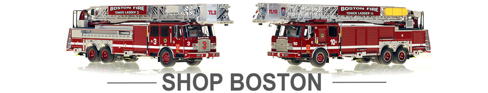Shop Boston Fire Department scale model fire trucks