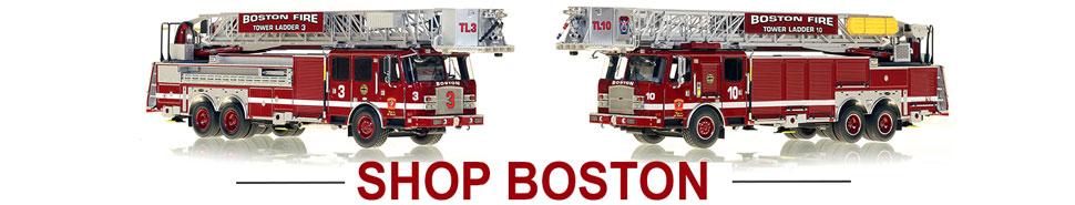 Shop Boston Fire Department scale model fire trucks