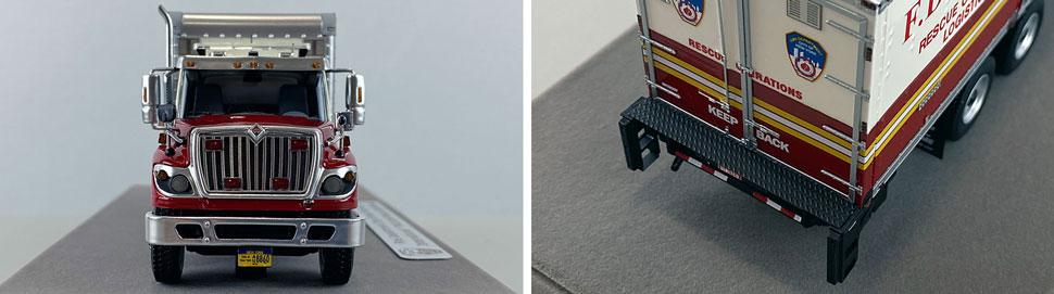 Closeup pics 9-10 of FDNY Rescue Operations Logistics 1 scale model