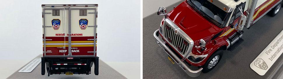 Closeup pics 3-4 of FDNY Rescue Operations Logistics 1 scale model