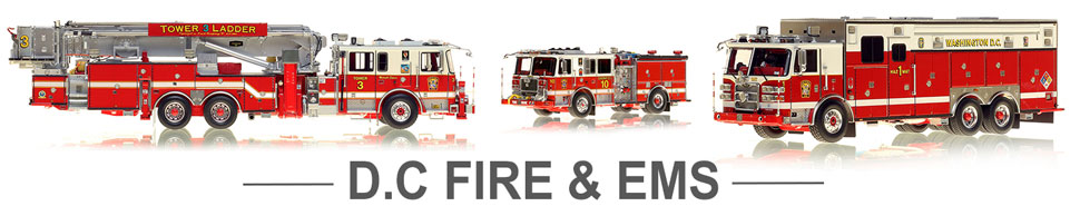 Shop DC Fire & EMS scale model fire trucks