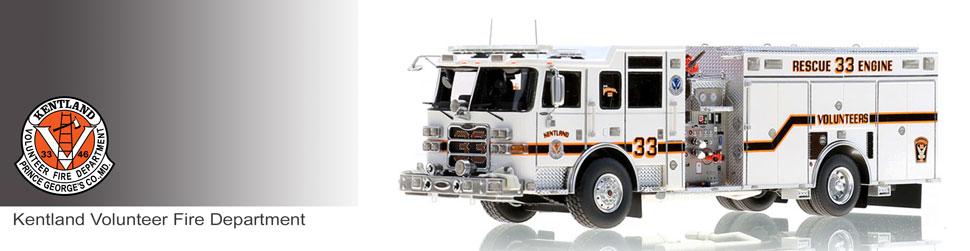 Kentland Volunteer Fire Department scale mdoels