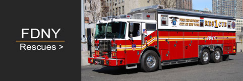 See the full line of FDNY Rescue scale models