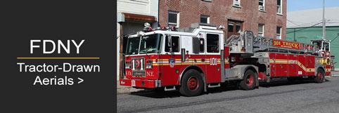 Shop FDNY Tillers scale model fire trucks