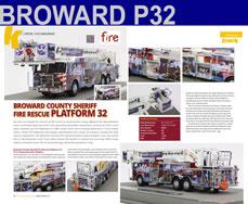 Broward County Sheriff Platform 32 - 9/11 Tribute