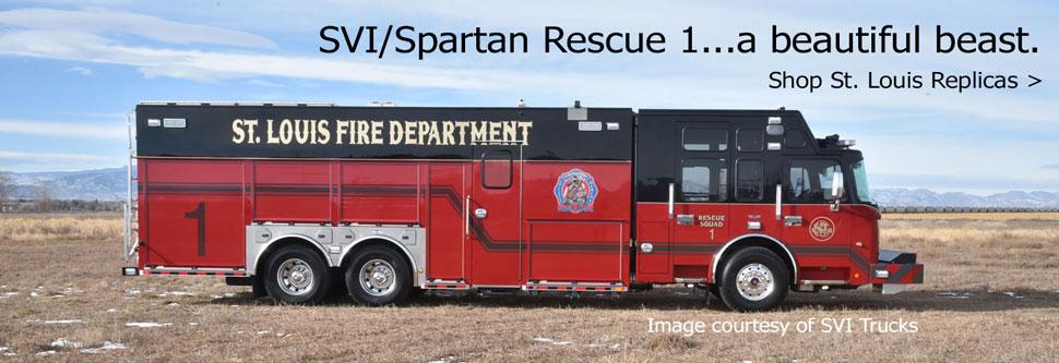 Shop all St. Louis Fire Department scale models