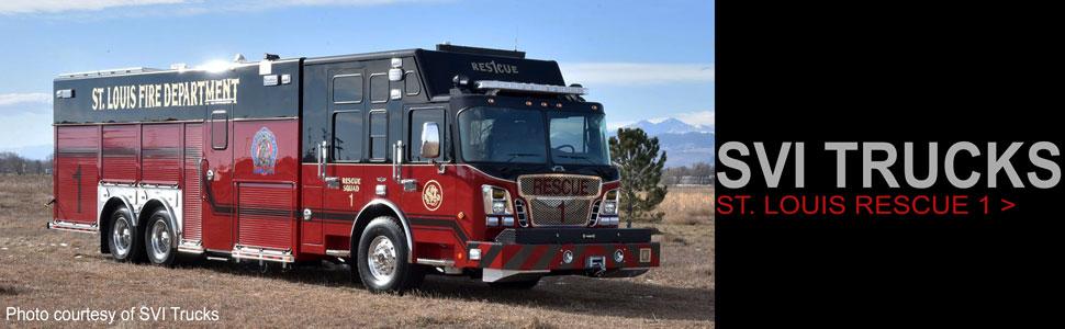Museum Grade SVI Trucks scale models by Fire Replicas